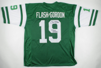 "Sam J. Jones Signed Jersey Inscribed ""Flash Gordon"" (JSA COA) at PristineAuction.com"
