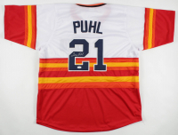 Terry Puhl Signed Jersey (JSA COA) at PristineAuction.com
