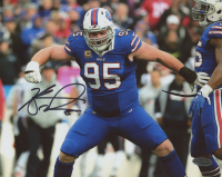 Kyle Williams Signed Bills 8x10 Photo (Playball Ink Hologram) at PristineAuction.com