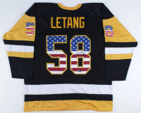 Kris Letang Signed Jersey (Letang COA) (See Description) at PristineAuction.com