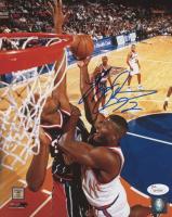 Larry Johnson Signed Knicks 8x10 Photo (JSA COA) at PristineAuction.com
