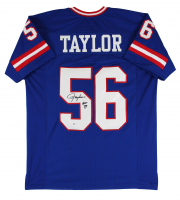 "Lawrence Taylor Signed Jersey Inscribed ""HOF 99"" (Beckett COA) at PristineAuction.com"