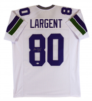 "Steve Largent Signed Jersey Inscribed ""HOF '95"" (Beckett COA) at PristineAuction.com"