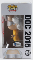 "Christopher Lloyd Signed ""Back To The Future"" #960 Doc 2015 Funko Pop! Vinyl Figure (Beckett COA) (See Description) at PristineAuction.com"