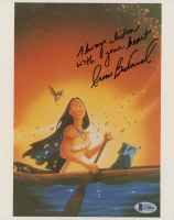 """Irene Bedard Signed """"Pocahontas"""" 8x10 Photo Inscribed """"Always Listen With Your Heart"""" (Beckett COA) at PristineAuction.com"""
