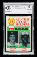 Roger Maris / Hank Aaron 1979 Topps #413 ATL (BCCG 9) at PristineAuction.com