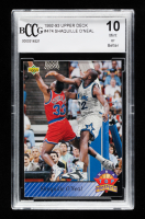Shaquille O'Neal 1992-93 Upper Deck #474 TP (BCCG 10) at PristineAuction.com