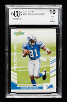 Calvin Johnson 2007 Score #351 RC (BCCG 10) at PristineAuction.com