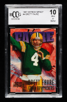 Brett Favre 1997 SkyBox Impact #4 (BCCG 10) at PristineAuction.com