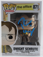 "Rainn Wilson Signed ""The Office"" #871 Dwight Schrute Funko Pop! Vinyl Figure (Beckett COA) at PristineAuction.com"