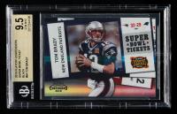 Tom Brady 2010 Playoff Contenders Super Bowl Ticket Black #64 (BGS 9.5) at PristineAuction.com