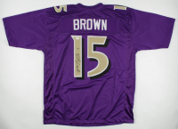 Marquise Brown Signed Jersey (JSA COA) at PristineAuction.com