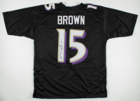 Marquise Brown Signed Jersey (JSA COA) (See Description) at PristineAuction.com