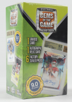 Gems of the Game Football Blaster Box with (6) Packs at PristineAuction.com