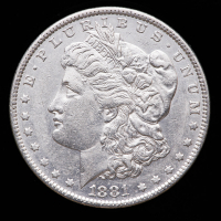 1881-O Morgan Silver Dollar at PristineAuction.com