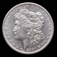 1881-S Morgan Silver Dollar at PristineAuction.com