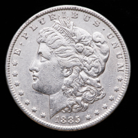 1885 Morgan Silver Dollar at PristineAuction.com