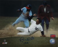 """Roy White Signed Yankees 8x10 Photo Inscribed """"Safe"""" (YSMS COA) at PristineAuction.com"""