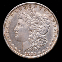 1883 Morgan Silver Dollar at PristineAuction.com