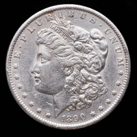 1890-S Morgan Silver Dollar at PristineAuction.com