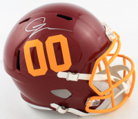 Chase Young Signed Washington Full-Size Speed Helmet (Fanatics Hologram) at PristineAuction.com