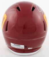 Chase Young Signed Washington Full-Size Speed Helmet (Fanatics Hologram) at PristineAuction.com