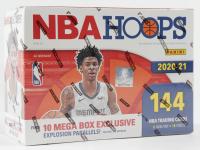 2020-21 Panini NBA Hoops Basketball Mega Box with (18) Packs at PristineAuction.com