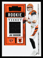Joe Burrow 2020 Panini Contenders Rookie Ticket Swatches Variation #1 at PristineAuction.com