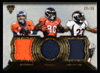 Peyton Manning / C.J. Anderson / DeMaryius Thomas 2015 Topps Triple Threads Relics Trios #TTRMTA at PristineAuction.com