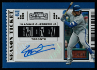 Vladimir Guerrero Jr. 2019 Panini Contenders Season Ticket Autographs Gold #17 at PristineAuction.com