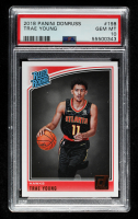 Trae Young 2018-19 Donruss #198 RR RC (PSA 10) at PristineAuction.com