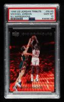 Michael Jordan 1997 Upper Deck Michael Jordan Tribute #MJ45 IMP (PSA 10) at PristineAuction.com