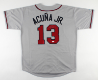 Ronald Acuna Jr. Signed Braves Jersey (JSA COA) at PristineAuction.com