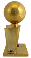 Magic Johnson Signed 2020 NBA Championship Replica Trophy (Beckett COA) at PristineAuction.com