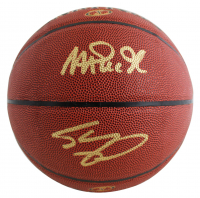 Magic Johnson & Shaquille O'Neal Signed NBA Basketball (Beckett COA) at PristineAuction.com