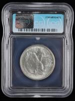 1942-D Walking Liberty Silver Half Dollar (ICG MS65+) at PristineAuction.com