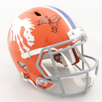 Bill Romanowski Signed Broncos Full-Size Speed Helmet (Beckett COA) at PristineAuction.com