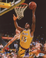 A. C. Green Signed Lakers 8x10 Photo (Beckett COA) at PristineAuction.com
