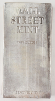 100 Troy Ounce Wall Street Mint .999 Fine Silver Bullion Bar at PristineAuction.com