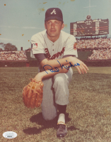 Phil Niekro Signed Braves 8x10 Photo (JSA COA) at PristineAuction.com