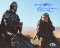 "Misty Rosas Signed ""The Mandalorian"" 8x10 Photo Inscribed ""Kuiil Performance Artist"" & ""I Have Spoken"" (Beckett COA) at PristineAuction.com"