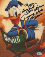 "Tony Anselmo Signed 8x10 Photo Inscribed ""With Our Best Wishes Donald Duck"" (Beckett COA) at PristineAuction.com"