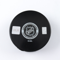 "Gilbert Perreault Signed Sabres Logo Hockey Puck Inscribed ""HOF 90"" (COJO COA) at PristineAuction.com"