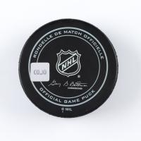 Tom Wilson Signed Capitals Logo Hockey Puck (COJO COA) at PristineAuction.com
