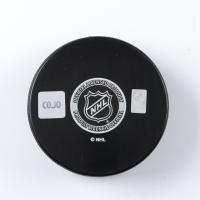 Wendel Clark Signed Blackhawks Logo Hockey Puck (COJO COA) at PristineAuction.com