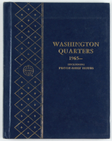 Set of (24) 1965-1974 Washington Quarters With Display Binder at PristineAuction.com
