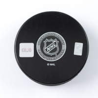 "Pascal Dupuis Signed Penguins Logo Hockey Puck Inscribed ""SC 09.16"" (COJO COA) at PristineAuction.com"