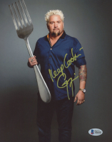 """Guy Fieri Signed 8x10 Photo Inscribed """"Keep Cool"""" (Beckett COA) at PristineAuction.com"""