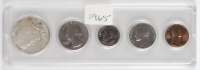 1965 United States Mint Set with (5) Coins at PristineAuction.com