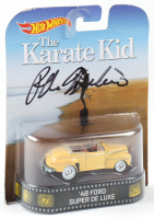 Ralph Macchio Signed 1948 Ford Super De Luxe Hot Wheels Car Action Figure (Legends COA) (See Description) at PristineAuction.com